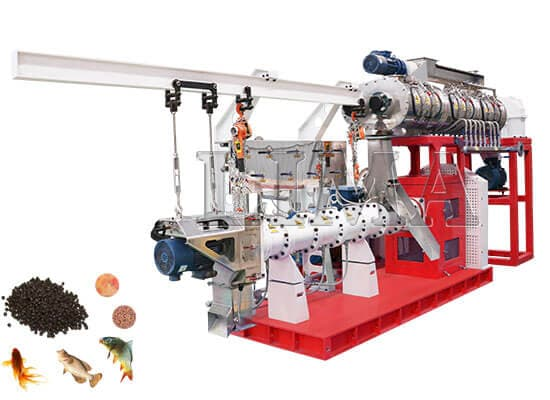 3T/H-7T/H Machine For Fish Feed