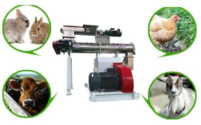What is the importance of the feed pellet machine?
